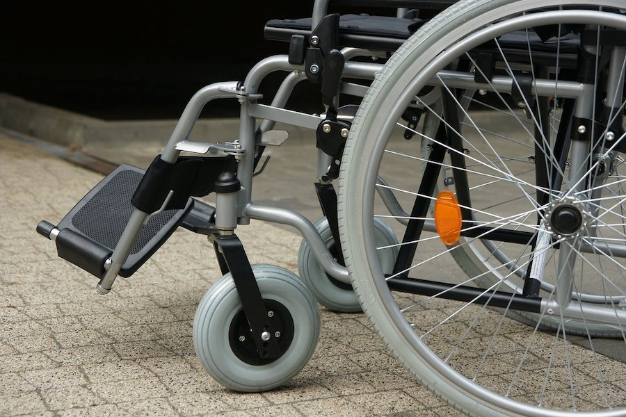 Help ik zit in een rolstoel