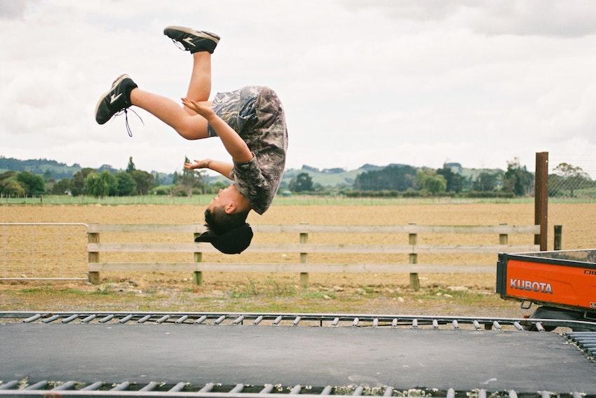 Trampoline springen goed voor gezondheid